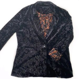 Sanctuary • Crushed Velvet Blazer